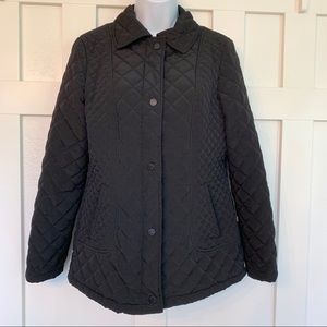 Calvin Klein Black Quilted Jacket